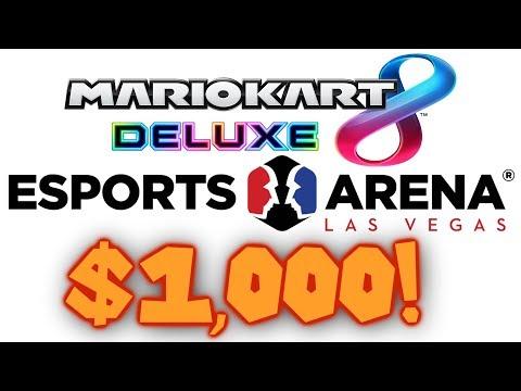 Mario Kart 8 Deluxe ESPORTS Tournament! $1,000+ Prize Pool!