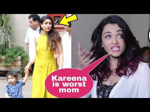 Omg! Shocking Aishwarya Rai Bachchan insults Kareena Kapoor Khan in front of media