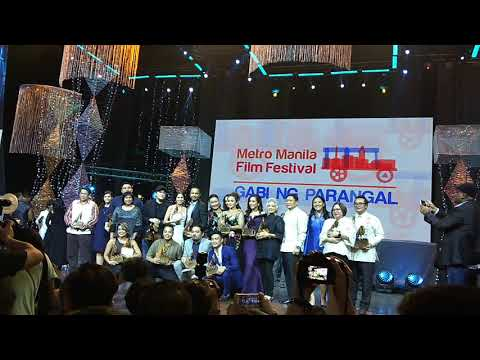 The Winners of the #MMFF2017 | 43rd Metro Manila Film Festival 2017 Awards Night