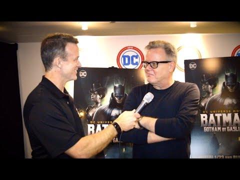 Bruce Timm Red Carpet Interview - Batman: Gotham by Gaslight Premiere