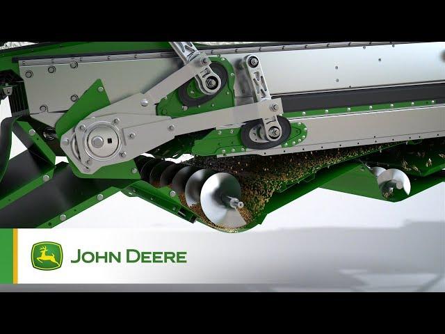 John Deere | T, W Series: Interactive Combine Adjust Animation 'ICA'