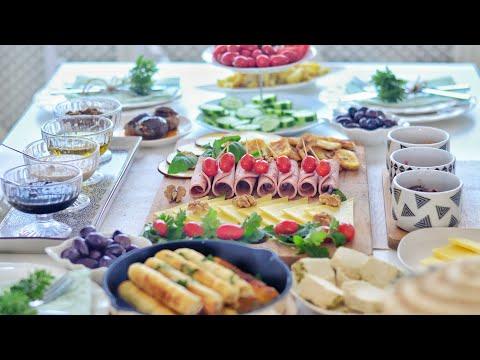 Misafirli Kahvaltı Menüm | Sofra Düzenim | Peynir Tabağı | Turkish Breakfast