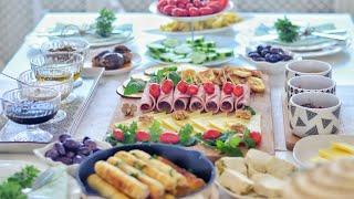 Misafirli Kahvaltı Menüm Sofra Düzenim Peynir Tabağı Turkish Breakfast