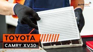 Hvordan bytte kupèfilter på Toyota Camry XV30 BRUKSANVISNING   AUTODOC
