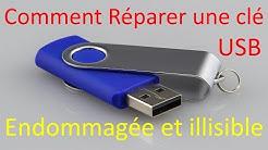 Comment Réparer une clé USB Endommagée ou illisible
