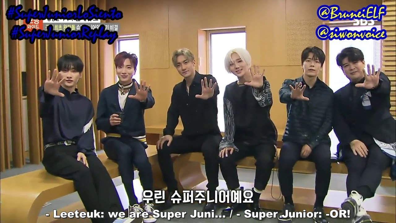 [ENGSUB] 180416 SBS Morning Wide interview with Super Junior