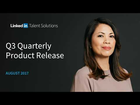 LinkedIn Talent Solutions Product Updates [webcast]