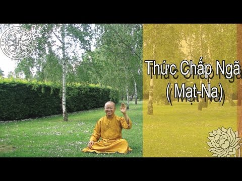 Duy Thức Tam Thập Tụng (2010) - Bài 8: Thức chấp ngã (Mạt-na)