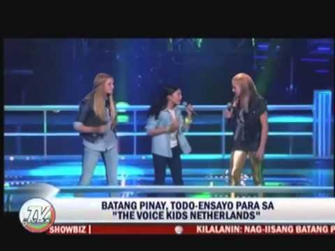 Katrina Manaog - The Voice Kids The Netherlands Finals (ABS-CBN News)