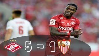 Video Gol Pertandingan Spartak Moscow U-19 vs Sevilla U-19
