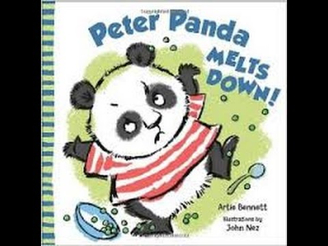 Peter Panda Melts Down Read Aloud Along Story Book for Children .