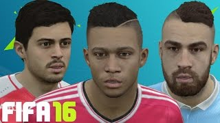 FIFA 16 Player Faces Update Ft. Otamendi, Memphis, Luiz Adriano and more!