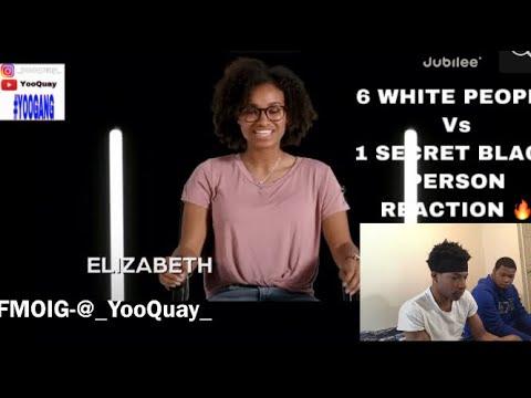 6 WHITE PEOPLE VS 1 SECRECT BLACK PERSON REACTION 🔥 FT 252HUNDO