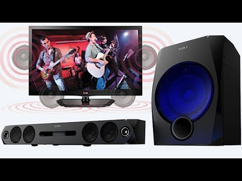 How To Connect A Home Theatre To a LED TV by AKS