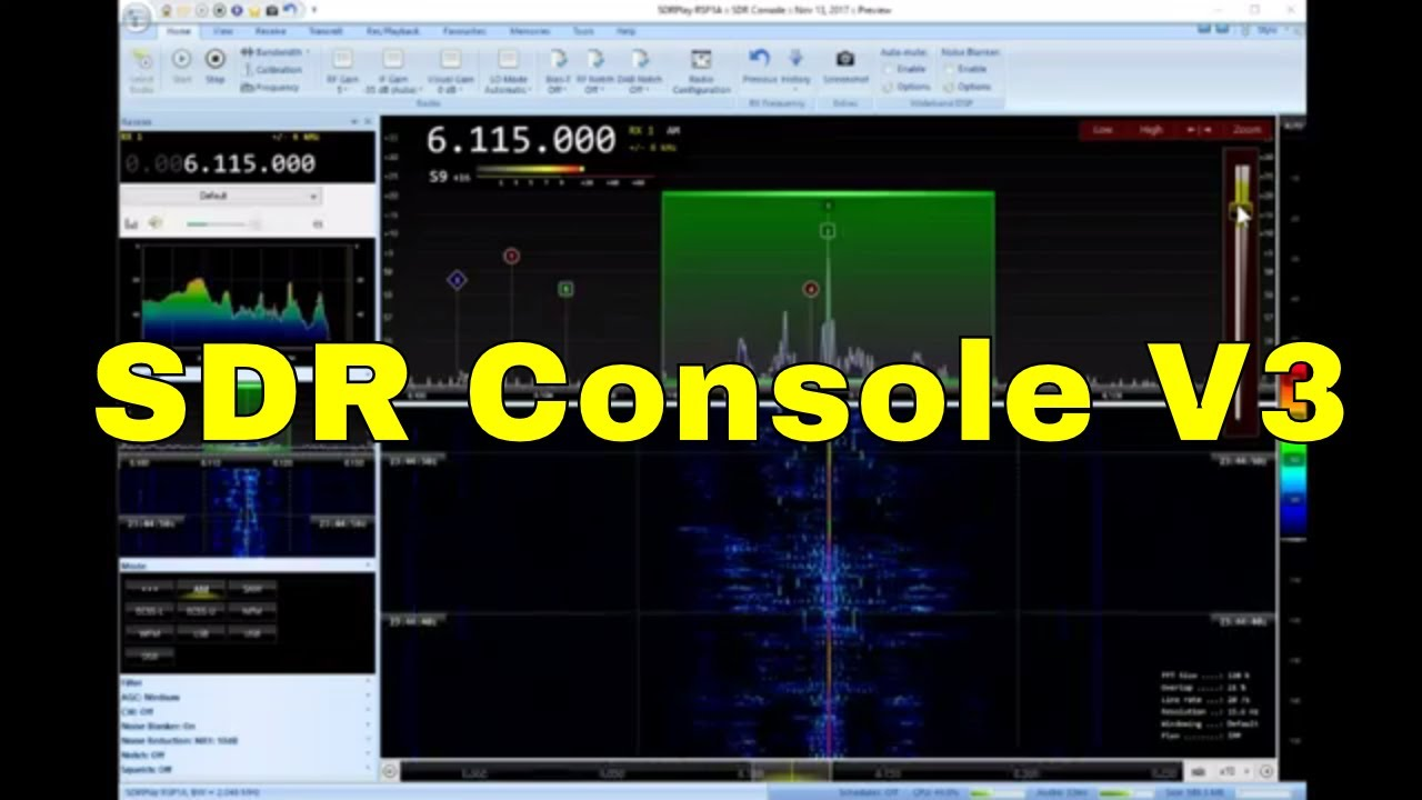 RSP1A on SDR Console V3