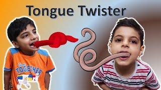 Tongue Twister I #FunWithAnaghAadriti I Full of fun I Challenge