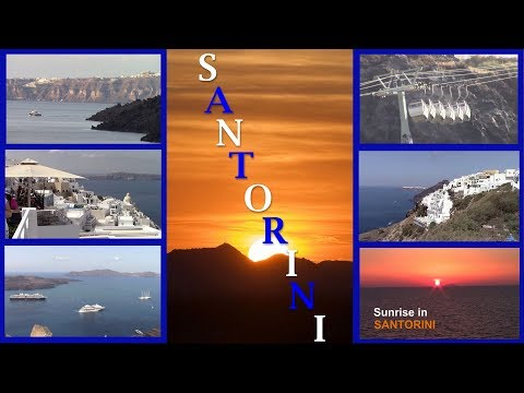 SANTORINI/GREECE/Cruise ship Travel Guide/GREEK ISLANDS/cable cars to FIRA/port of call
