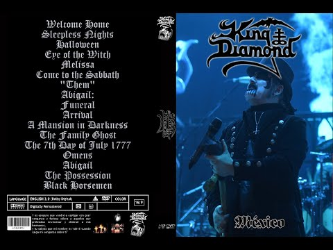 KIng Diamond Funeral/Arrival Mexico 2017