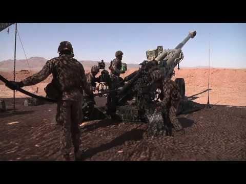 Artillery Marines - Desert Scimitar 2013