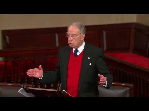 """""""The American People Deserve the Whole Story"""": Grassley on Importance of Congressional Oversight"""