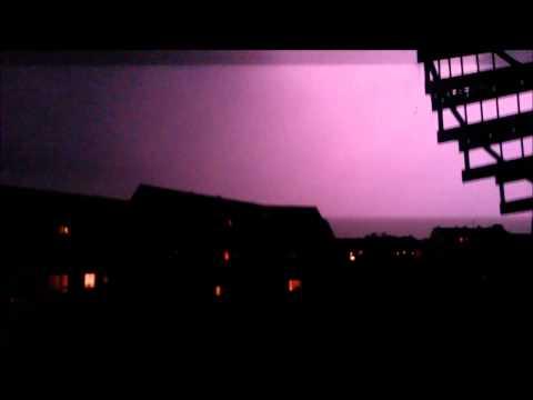 2014 - Der wahre Weltuntergang - Das heftige Gewitter am 09.06.2014 in Neuss- Unwetter in NRW