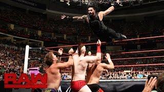 Roman Reigns vs. Sami Zayn vs. Sheamus vs. Chris Jericho – Fatal 4-Way Match: Raw, 25. Juli 2016