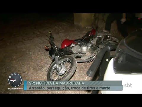 Arrastão termina em troca de tiros com a polícia na Grande SP | Primeiro Impacto (03/04/18)