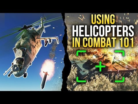Using Helicopters In Combat 101 / War Thunder