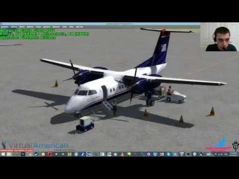 PDT4961: KELM - KPHL [DeHavilland Dash 8 Q-200]