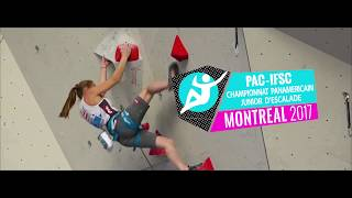 Championnat Panaméricain d'escalade Junior, Invitation combiné Escalade- Horizon Roc- Climbing Gym