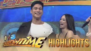 "It's Showtime: Piolo and Arci take on the ""Taga Saan Ka"" challenge"