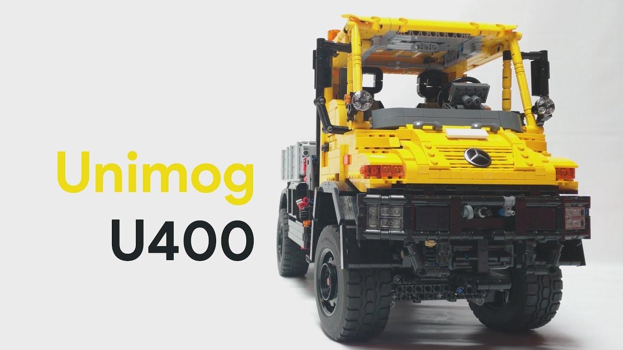 Lego Unimog U400 Moc Youtube