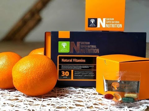 Natural Vitamins из серии Siberian Super Natural Nutrition