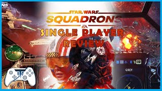 Star Wars Squadrons Single Player Review - Pew Pew (Video Game Video Review)