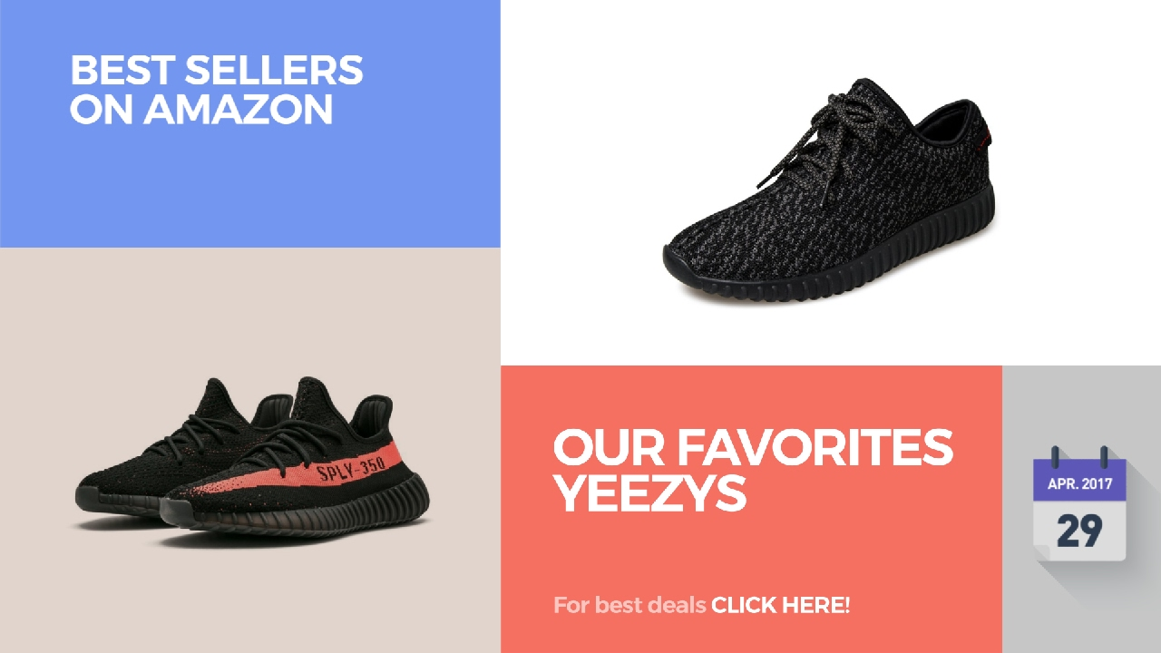 fe0f16151 Our Favorites Yeezys Best Sellers On Amazon - YouTube