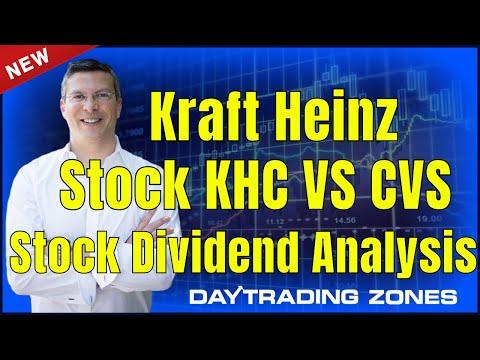 kraft heinz stock KHC STock VS CVS Stock Dividend Analysis  (2019)