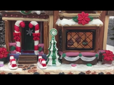 christmas village displays at michaels lemax houses whole christmas model town youtube - Michaels Christmas Village