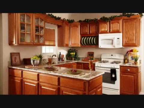 U Shaped Kitchen Designs For Small Kitchens - YouTube