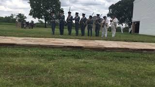Civil war demonstration