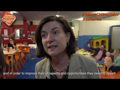 Eluned Morgan - Launch Of Adult Learners' Week 2018