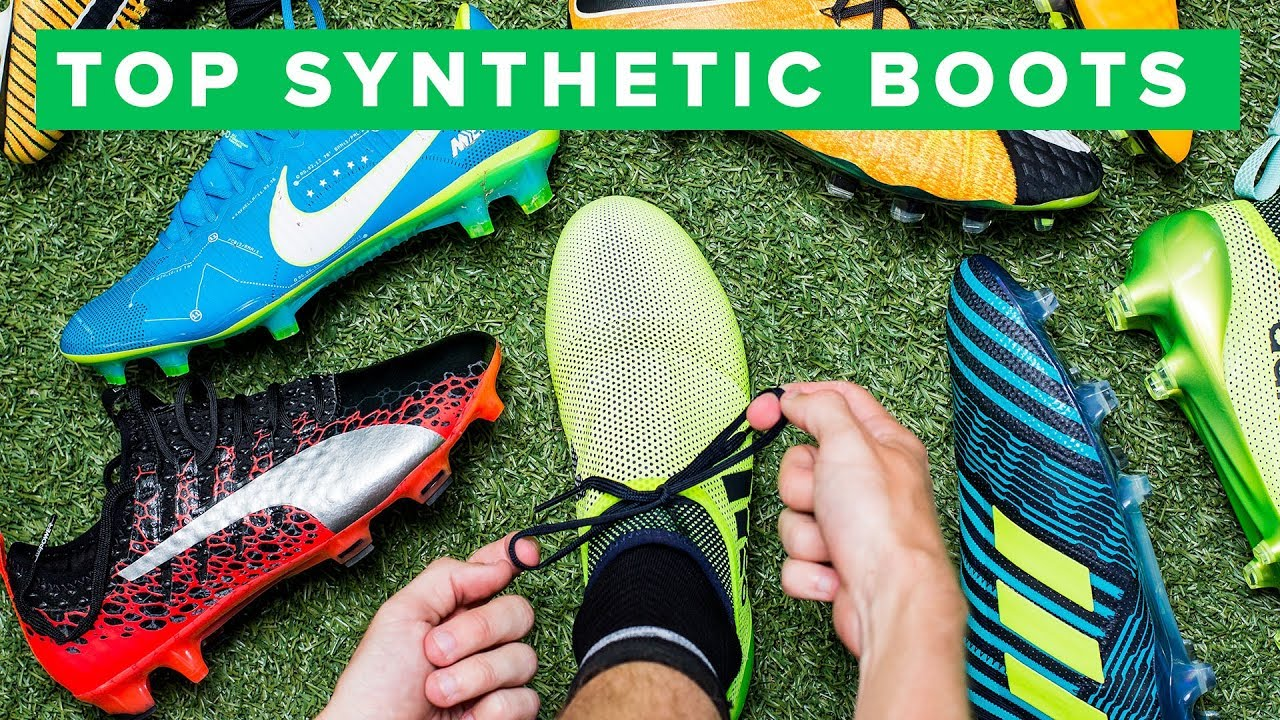 81516650b8ec TOP 5 SYNTHETIC FOOTBALL BOOTS - YouTube