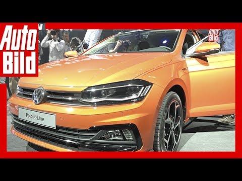 VW Polo 6 (2017) / Weltpremiere / Sitzprobe / Neuvorstellung / Details