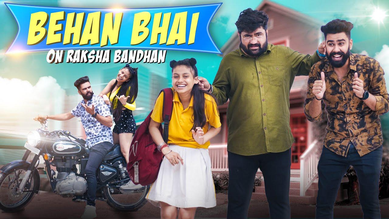 BHAI- BEHAN ON RAKSHA BANDHAN || EVERY BROTHER SISTER || DHEERAJ DIXIT