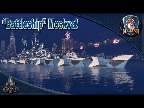 """Battleship"" Moskva. T10 Russian Cruiser Post Armor Buff"
