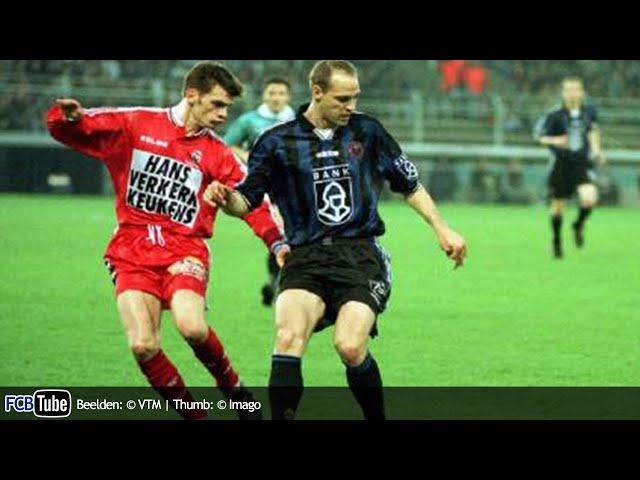 1997-1998 - Beker Van België - 04. Halve Finale - Club Brugge - Excelsior Mouscron 1-1