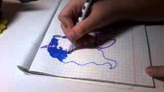 Урок рисования: Принцессы Луны #1