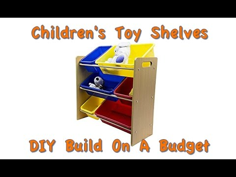 How to Build Childrens Toy Shelves for Under $20