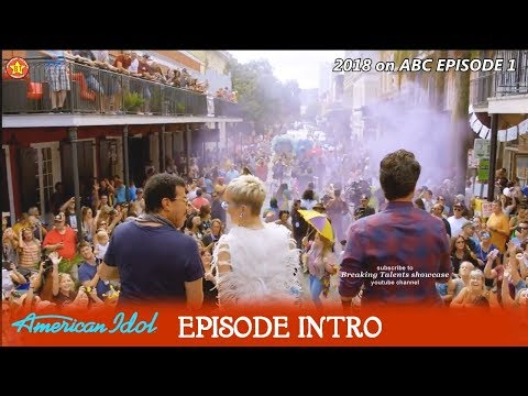 American Idol 2018 Episode 1 Intro with Carrie Underwood Voice Over & Behind the Scenes