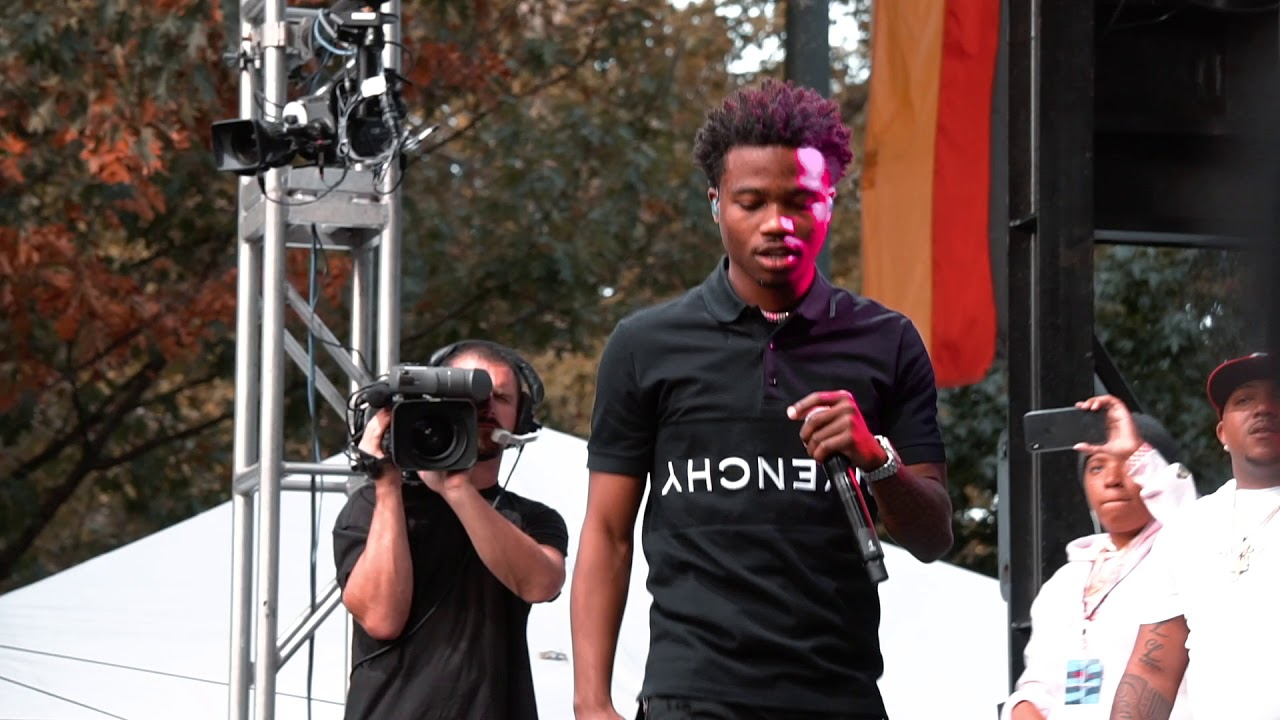 Roddy Ricch live at Made in America