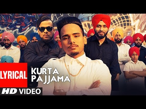 Kurta Pajama Punjabi Lyrical Song | RS Chauhan, IKKA, Preet Hundal |